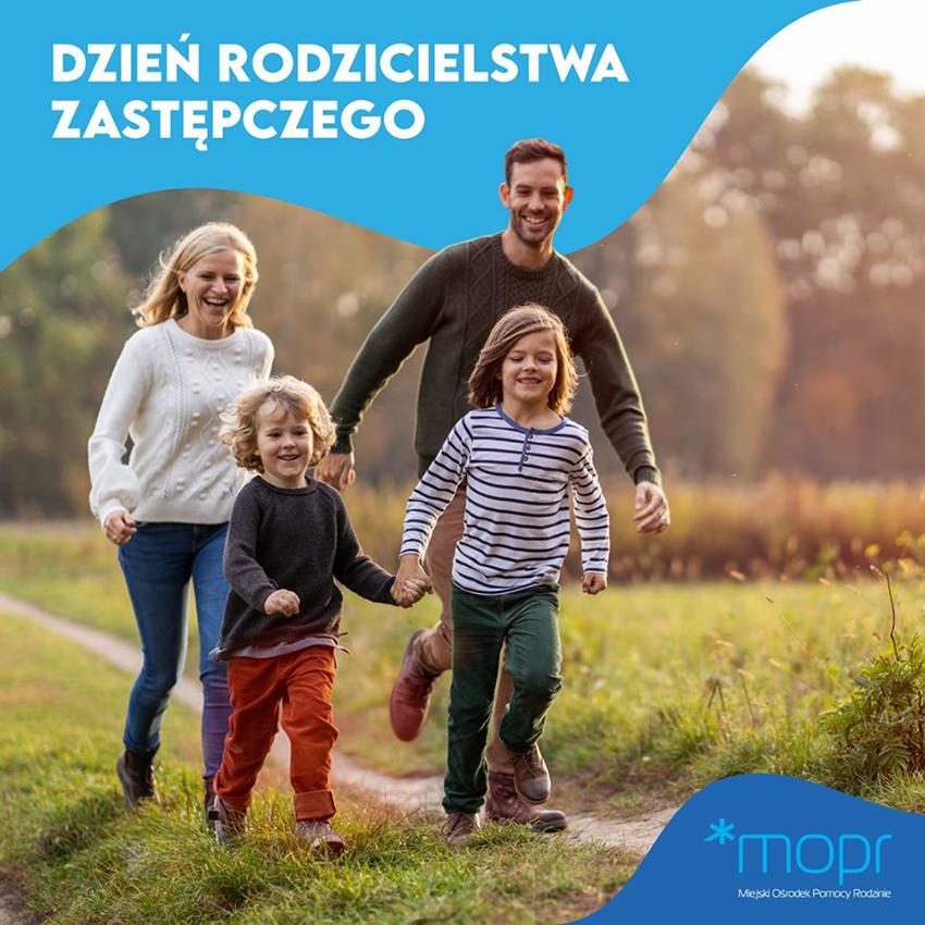 Plakat Dnia Rodzicielstwa Zastępczego