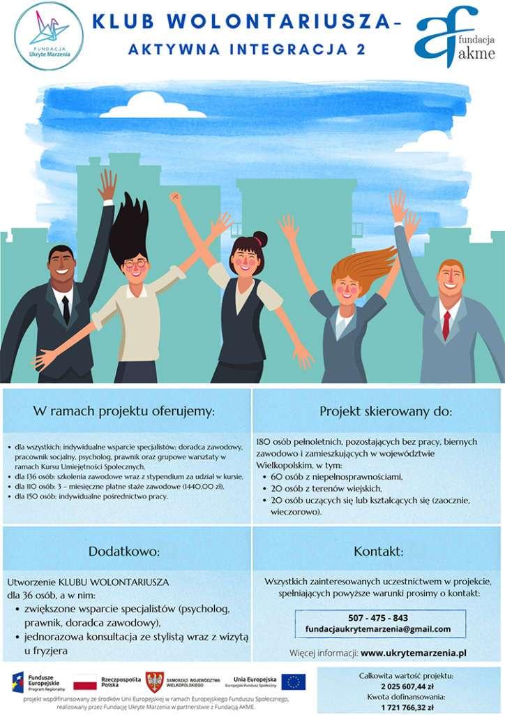 Plakat Aktywnej Integracji