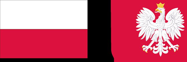 znak fagi polskiej i godło polskie
